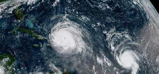 Huracán Irma y Huracán José | Foto: Reuters