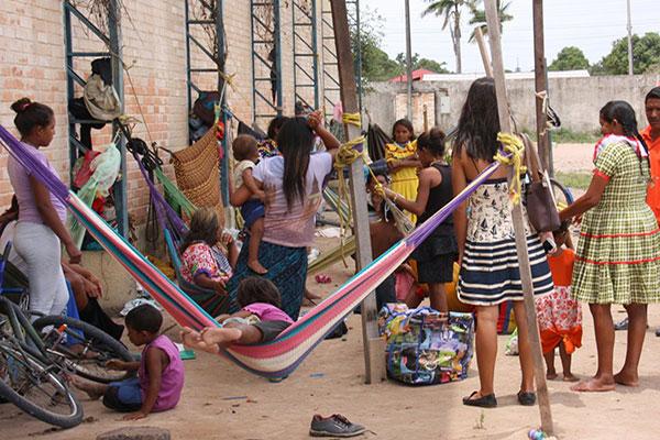 Migrantes venezolanos refugiados en Boa Vista   Foto: Ascom / MPF