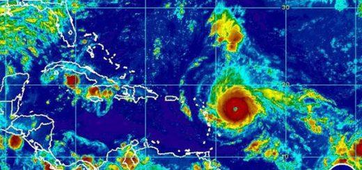 Huracán Irma continúa su recorrido por el caribe  |Foto cortesía