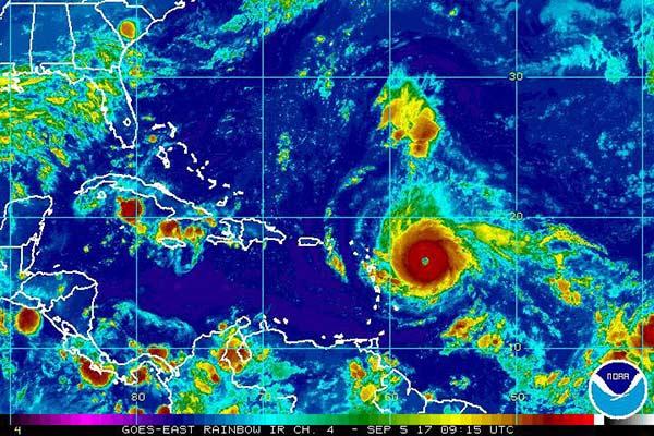 Huracán Irma ya es categoría 4 y amenaza a la Antillas |Foto cortesía
