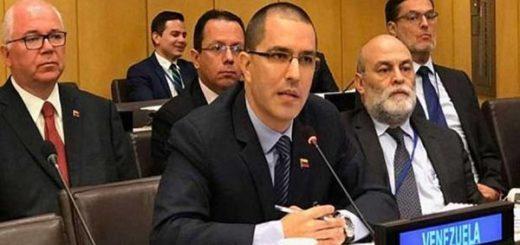 Jorge Arreaza, canciller de Venezuela |Foto cortesía