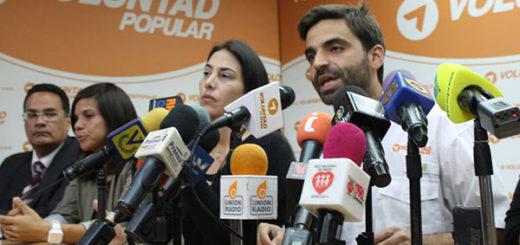 Voluntad Popular responsabiliza a Iris Varela por la vida e integridad del diputado Gilber Caro | Foto: Prensa VP