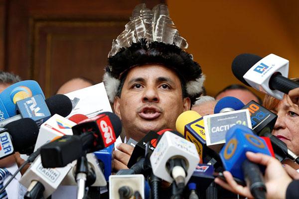 Julio Ygarza pide pena máxima para involucrados en forjamiento de actas en Amazonas | Foto: Archivo