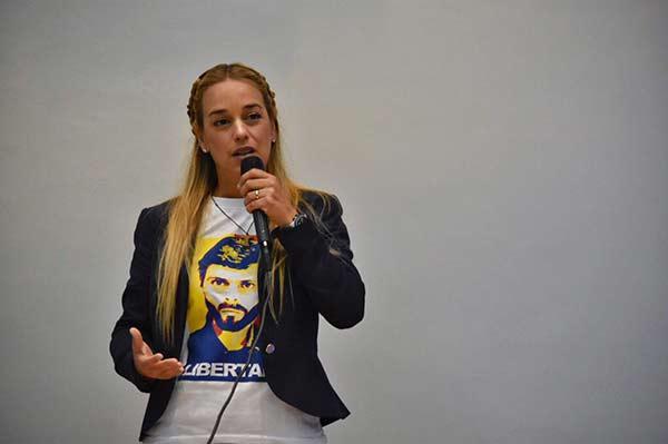 Lilian Tintori, activista de DDHH  Foto: La Patilla