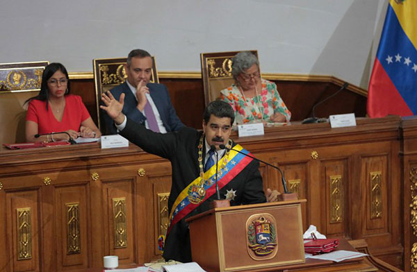 Venezuela implementará nuevo sistema de pago internacional, dice Maduro | Foto: @PresidencialVen