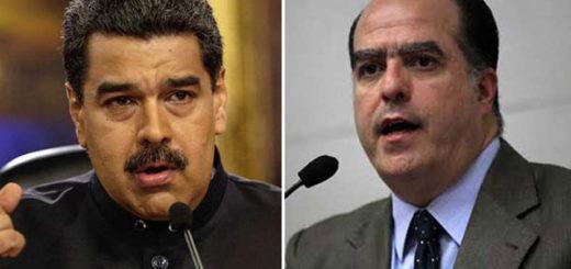 Maduro arremetió contra Borges por nuevas sanciones de EEUU | Composición NotiTotal