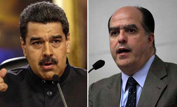 Maduro arremete contra Julio Borges tras ausencia de la oposición en el diálogo | Composición NotiTotal