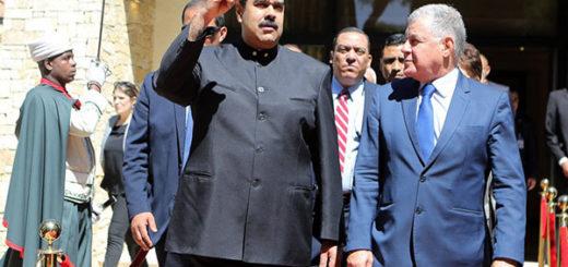 Maduro inicia una visita a Argelia para hablar de petróleo y estrechar lazos | Foto: @PresidencialVen