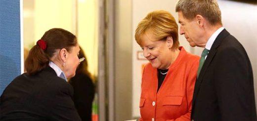 Angela Merkel vota este domingo |Foto cortesía
