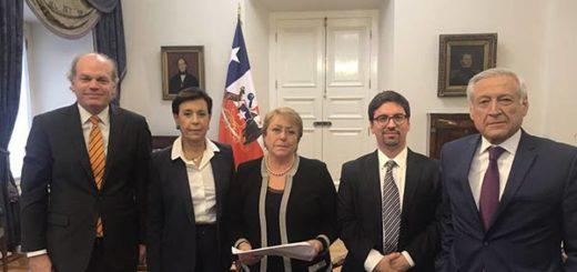 Michelle Bachelet se reunió con opositores venezolanos |Foto: Twitter