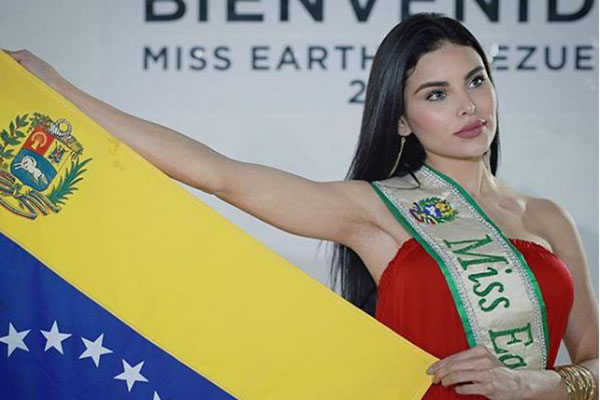 Miss Earth Venezuela 2017 envió medicinas a víctimas de las lluvias en el país desde México | Foto: Instagram