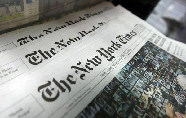 Carta de Venezuela en el New York Times |Foto: referencial