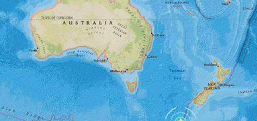 Terremoto de magnitud 6,1 sacude las aguas del sur de Nueva Zelanda | Foto cortesía