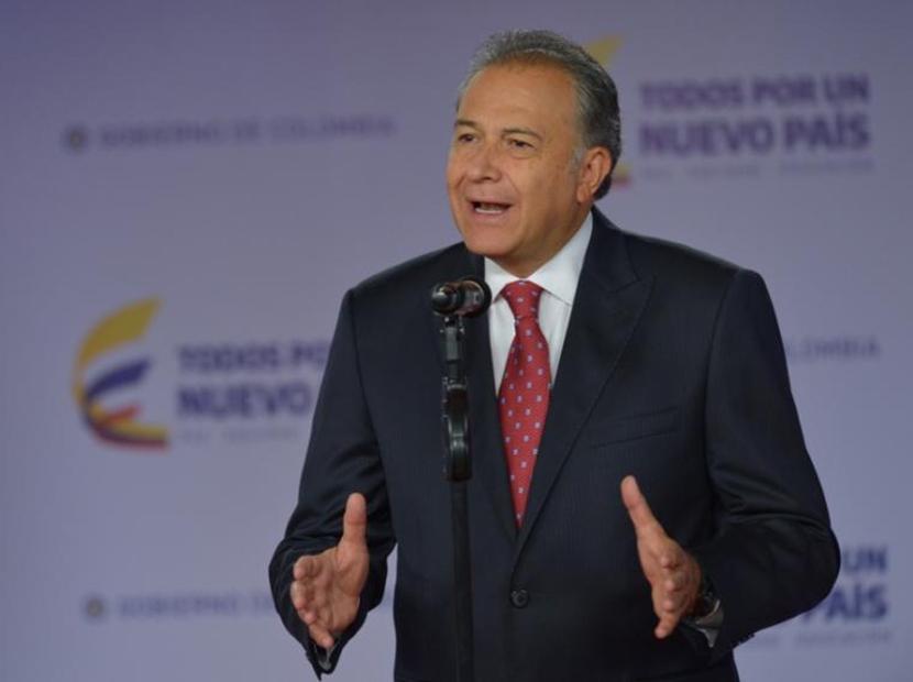 Oscar Naranjo, vicepresidente de Colombia   Foto: EFE
