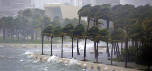 Palm Beach quedó inundada por el paso del huracán de Irma |Foto cortesía