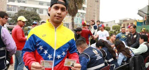 Venezolanos en Perú obtienen permiso de permanencia |Foto: El Comercio