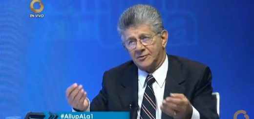 Henry Ramos Allup, diputado de la AN por la MUD | Foto: Captura de video