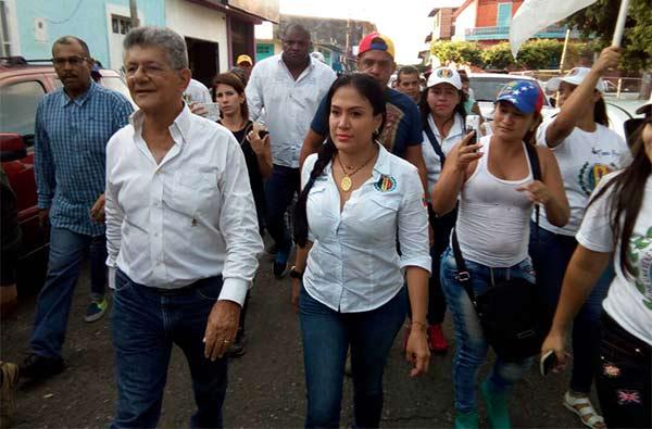 Ramos Allup apuesta todo a la candidatura de Laidy Gómez |Foto cortesía