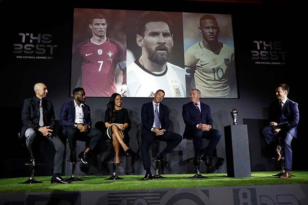 Ronaldo, Messi y Neymar son finalistas al premio The Best a mejor jugador | Foto: Reuters