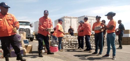Venezuela envió ayuda a San Martin |Foto: Protección civil