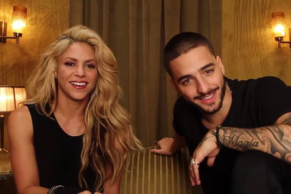 Shakira y Maluma encabezan nominaciones a Latin AMAs | Foto cortesía
