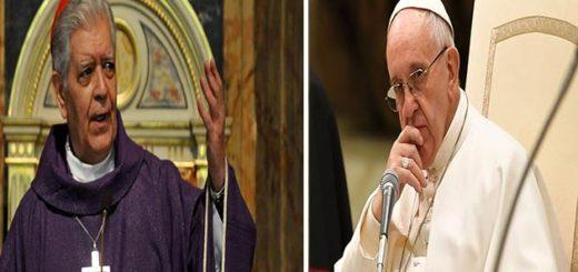 Papa Francisco se reunió con el cardenal Urosa para hablar de Venezuela | Foto: Composición Notitotal
