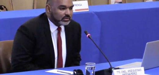 Teniente Coronel, José Gustavo Arocha, relató ante la OEA lo que vivió en La Tumba | Captura de video