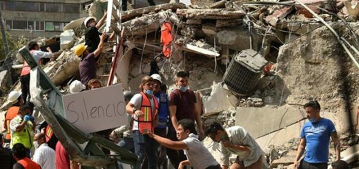 Terremoto en México |Foto: AFP