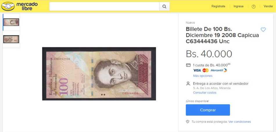 Venta-de-billetes-2-en-MercadoLibre