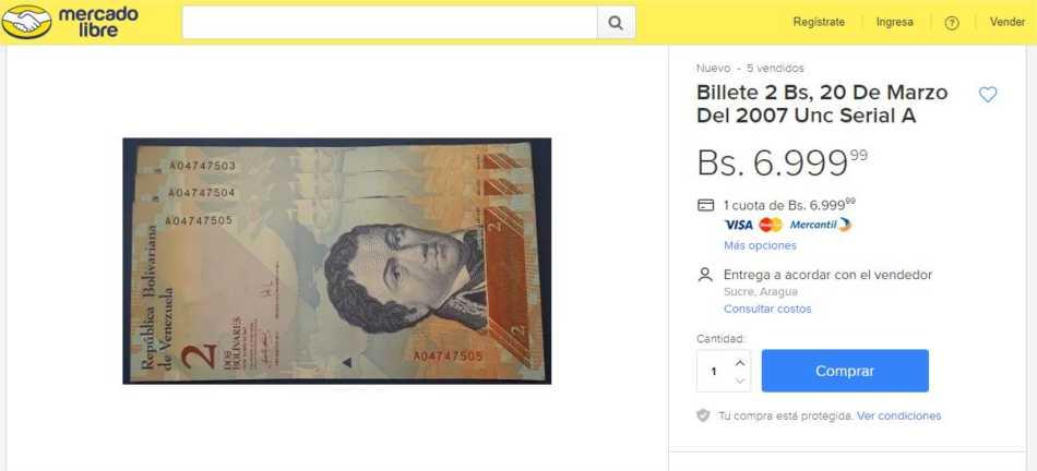 Venta-de-billetes-en-MercadoLibre
