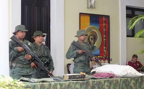 Desmantelan posible atentado con explosivos que se ejecutaría durante juego de Venezuela y Colombia | Foto: Twitter