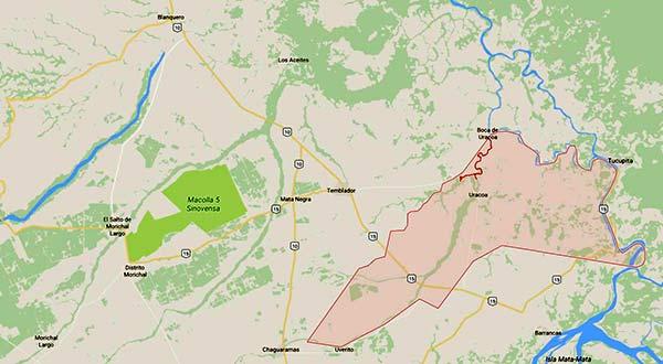 El suceso ocurrió en frontera entre Monagas y Delta Amacuro   Imagen: El Nacional
