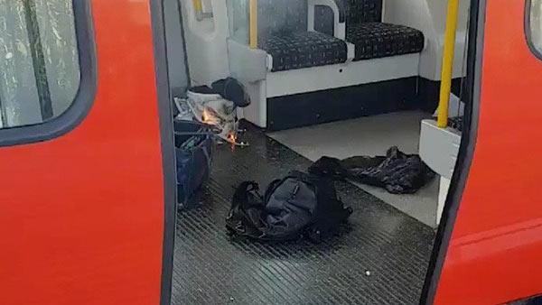 Intento de atentado en Londres   Foto: Twitter