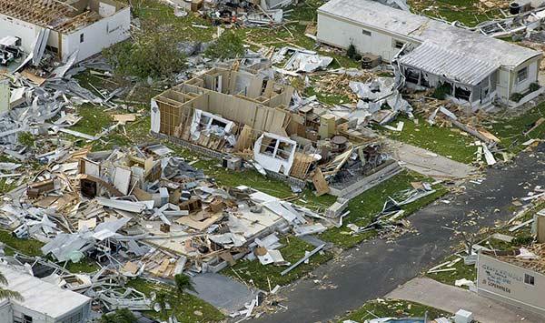 Antigua y Barbuda tras el paso de Irma | Foto: Twitter