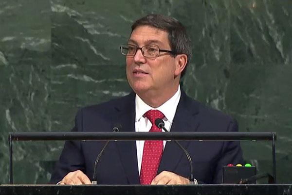 Cuba rechazó en la ONU amenaza militar de EE.UU y sanciones contra Venezuela