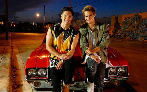 """Carlos Baute y Chyno Miranda preparan el videoclip del tema """"Vamo' a la calle""""   Foto: Instagram"""