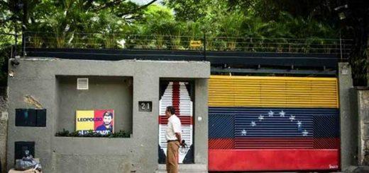 Casa de Leopoldo López | Foto referencial / EFE