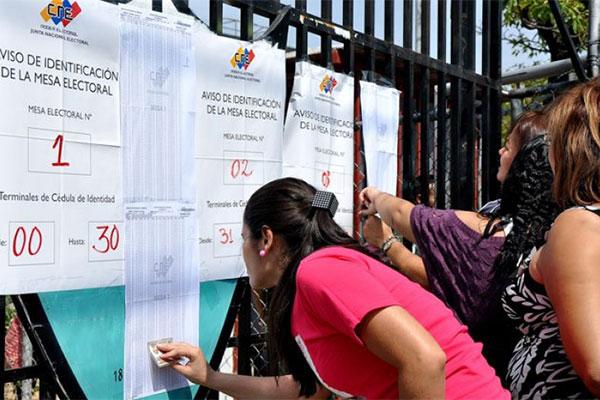 CNE eliminó 200 centros de votación para regionales en Miranda | Foto:  Archivo
