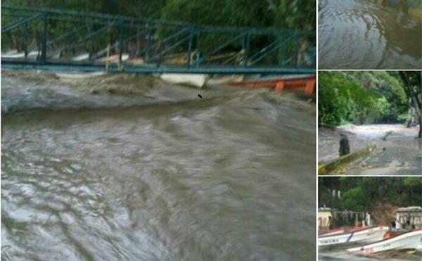 Lluvias hacen estragos de nuevo en Choroní | Foto: Twitter