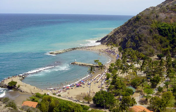 El fenómeno natural que mantiene asombrados a turistas en playa de Vargas | Foto cortesía