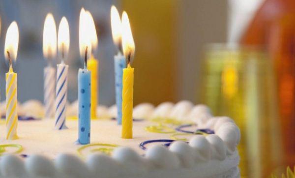 Cumpleaños   Foto referencial