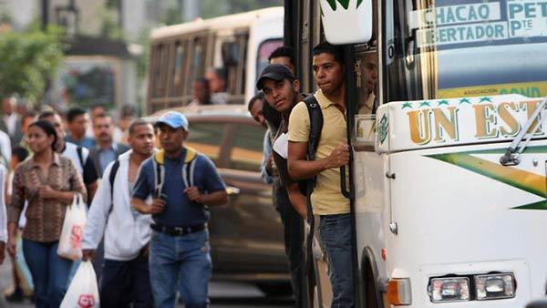 Pasaje urbano debería costar 1000 bolívares, según transportistas | Foto: Referencial
