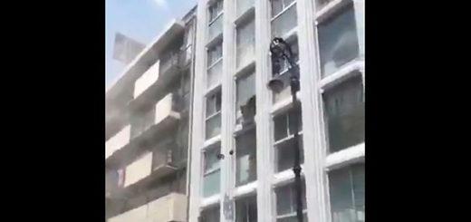 Imagen del terremoto de México   Foto: Captura de video