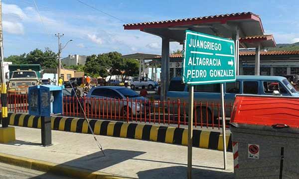 Estación de gasolina en Margarita   Foto: Twitter