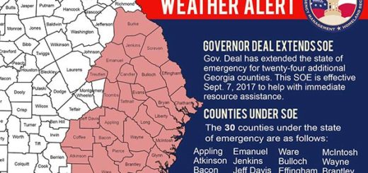 Georgia enciende las alarmas por Huracán Irma |Foto: Twitter