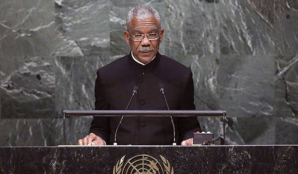 Presidente de Guyana, David Granger   Foto: EFE