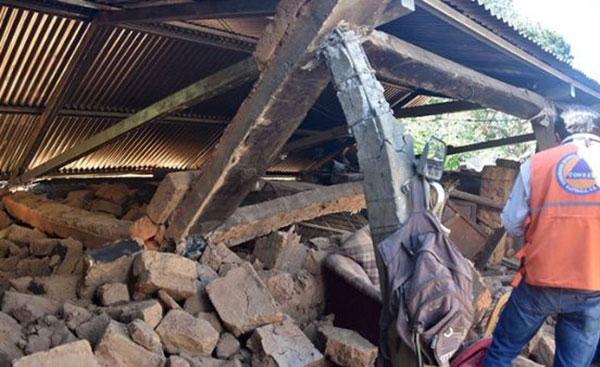 Afectados por terremoto en Guatemala suman más de 21.300   Foto: @ConredGuatemala