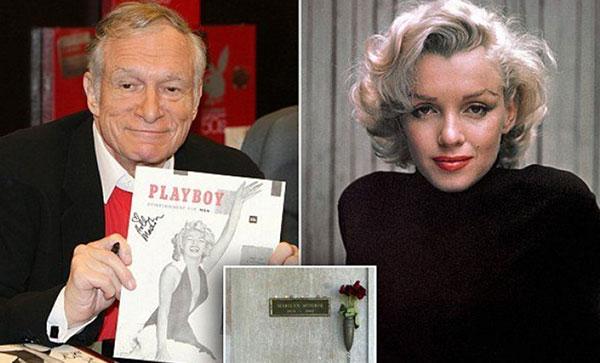 Hugh Hefner será enterrado al lado de Marilyn Monroe | Foto: Caraota Digital