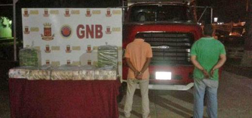 Detienen a dos hombres con más de nueve millones bolívares en Falcón | Foto: Notifalcón