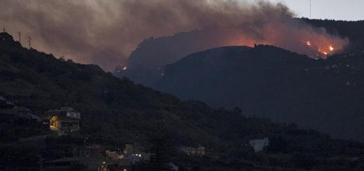 Incendio en Gran Canaria rebasa las dos mil hectáreas | Foto: EFE